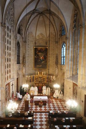 Innenansicht der Deutschordenskirche St. Elisabeth, Wien